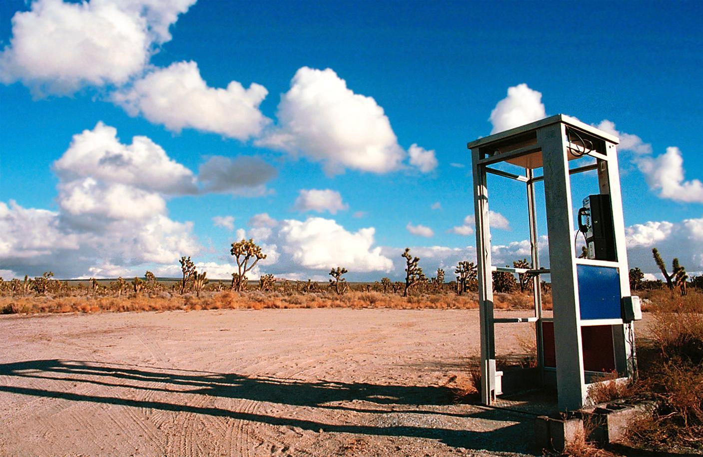 desert phonebooth